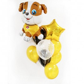 Букет из шаров Собачка