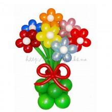 Букет из шаров Цветочная поляна