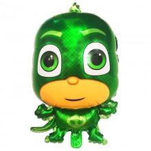 Фольгированный шар Герои в масках Гекко