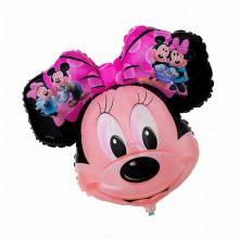 Фольгированный шар Минни Маус (голова)
