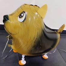 Ходячая фигура собачка коричневая