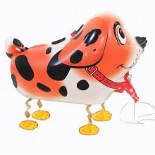 Ходячая фигура собачка рыжая