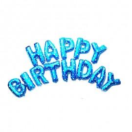 Фольгированные буквы-шары Happy Birthday (45 см)