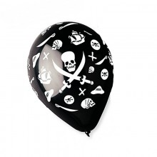 Шар с рисунком Пираты