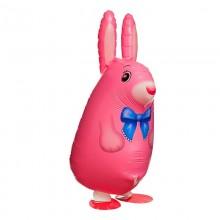 Ходячая фигура Кролика (розовый цвет)