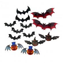Декор на Хэллоуин Летучие мыши, Тыква Джек
