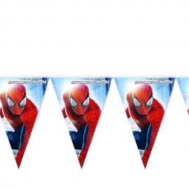 Флажки-гирлянда Спайдермен (Человек паук)
