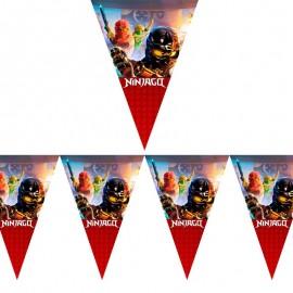 Флажки-гирлянда Лего Ниндзяго
