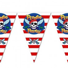 Флажки-гирлянда Пираты