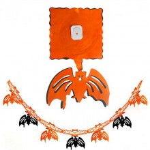 3D Гирлянда-растяжка Хэллоуин Летучая мышь