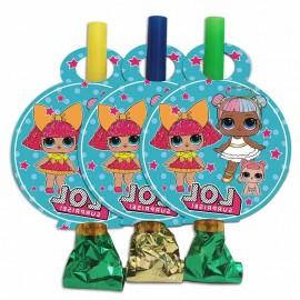 Язычки-гудки (дудки) Куклы ЛОЛ 6 шт
