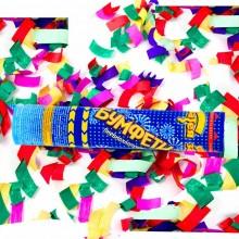Хлопушка 30 см с бумажным конфетти