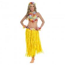 Костюм на Гавайскую вечеринку (желтая юбка)