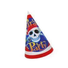 Колпачки праздничные Пираты 10 шт