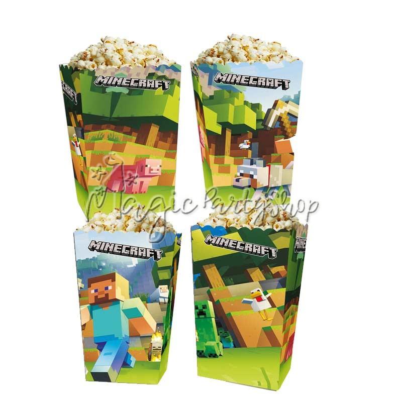 Коробочки для сладостей Майнкрафт