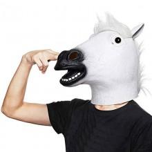 Маска Голова Лошади белая