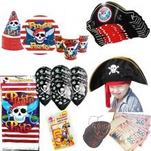 Набор для проведения Пиратской вечеринки на 10 персон + Подарок