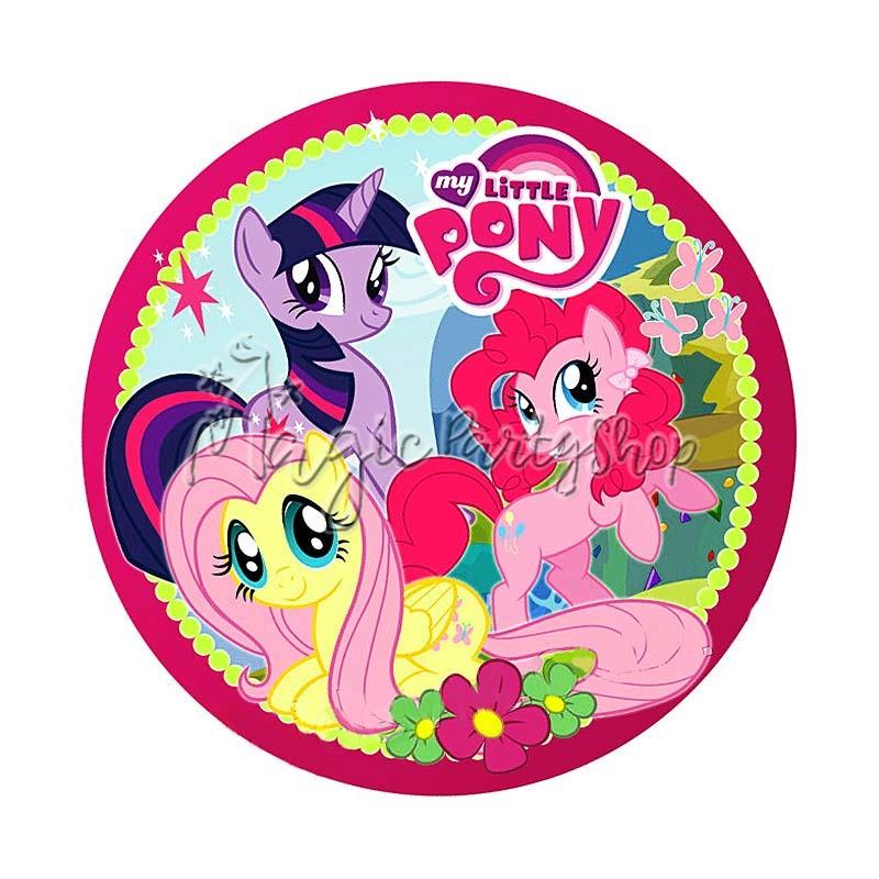 Тарелки одноразовые My Little Pony