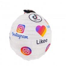 Пиньята Instagram Tik Tok Likee