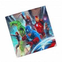 Салфетки Мстители Супергерои (Avengers)