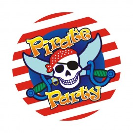 Тарелки Пираты 10 шт
