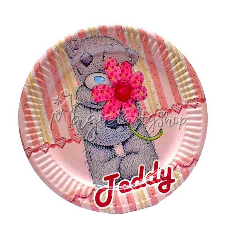 Тарелки Мишка Тедди Me to You розовые