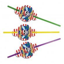 Трубочки для сока Пираты 8 шт