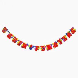 Гирлянда-буквы «С Днем Рождения Шарики»