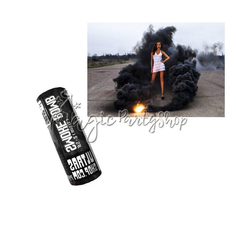Дым цветной черный