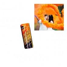 Дым цветной оранжевый