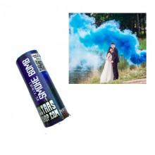 Дым цветной синий