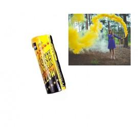 Дым цветной желтый