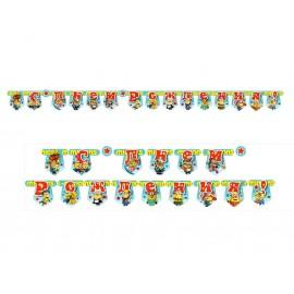 Гирлянда-буквы «С Днем Рождения Миньоны»