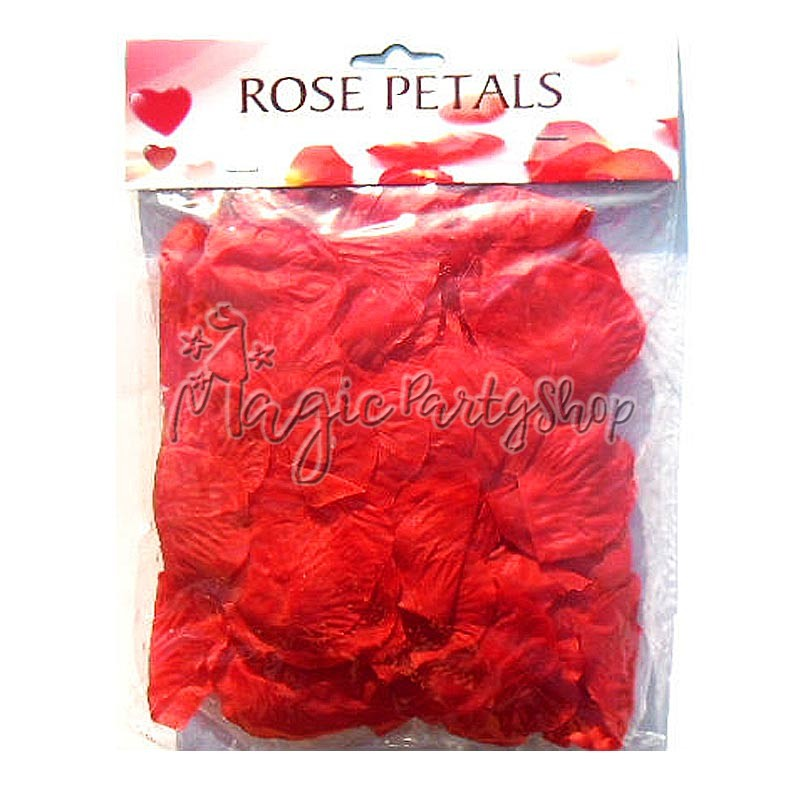 Лепестки роз красные 150 штук