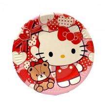 Тарелки одноразовые Hello Kitty