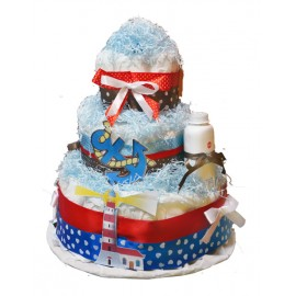 Торт из памперсов Baby Sailor