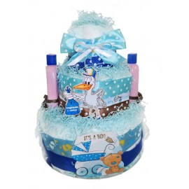 Торт из памперсов It's a Boy!