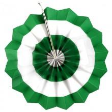 Фант зеленый (бумажный веер)