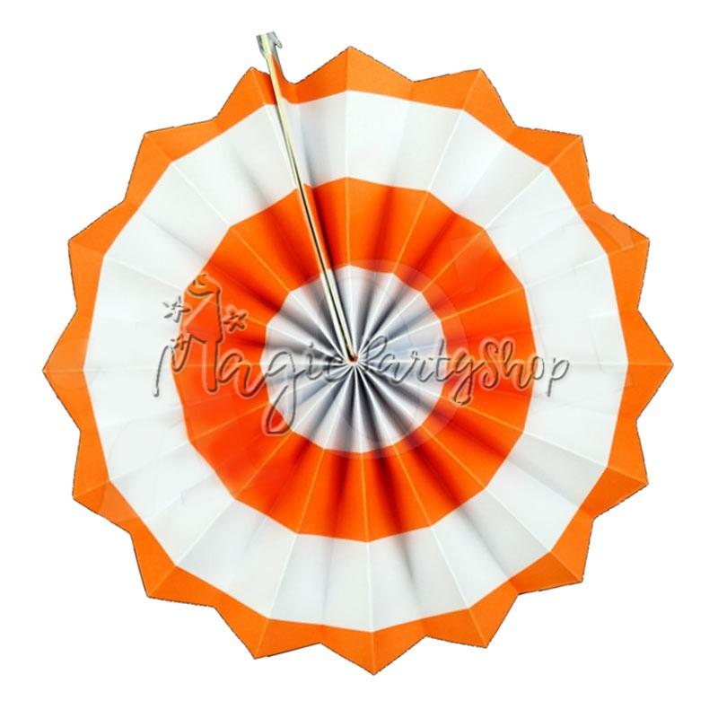 Фант оранжевый (бумажный веер)