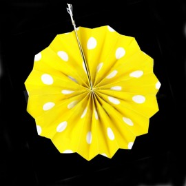 Фант желтый (бумажный веер)