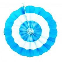 Фант голубой (бумажный веер)